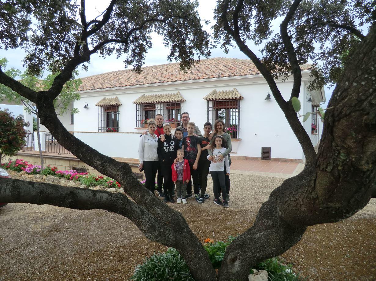 ¡Gracias por vuestra estancia Familia Leiva!