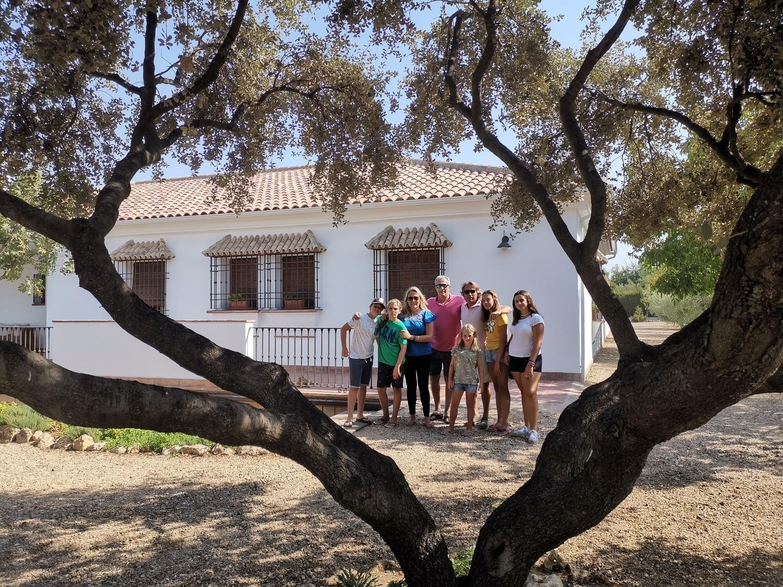 Estancia de la familia Ruiz del Portal, de Málaga