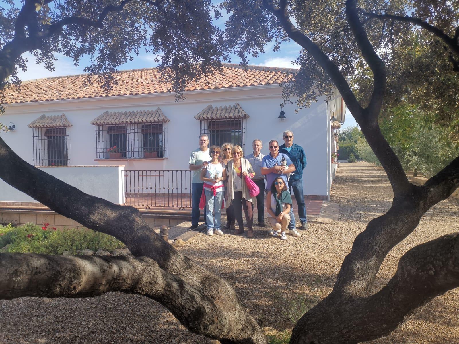 Estancia de Juan Ignacio con sus amigos